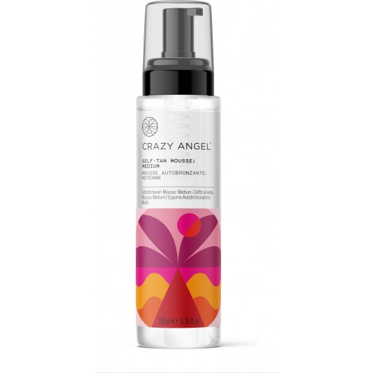 Crazy Angel - Self Tan Med Mousse 200Ml
