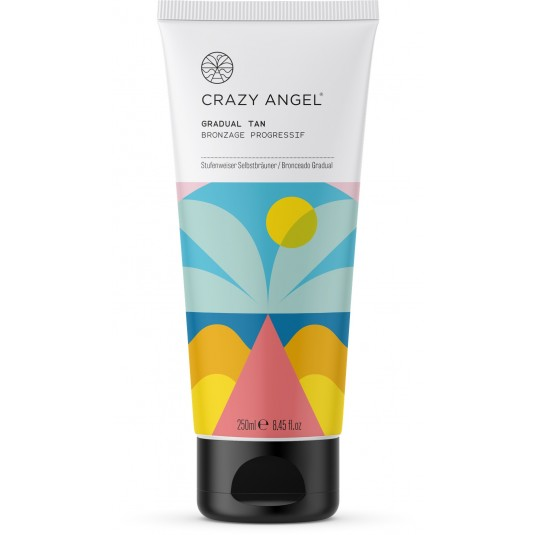 Crazy Angel Golden Tease Grad Tan 250Ml