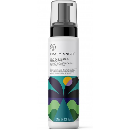 Crazy Angel - Md Dark  Self Tan Mousse