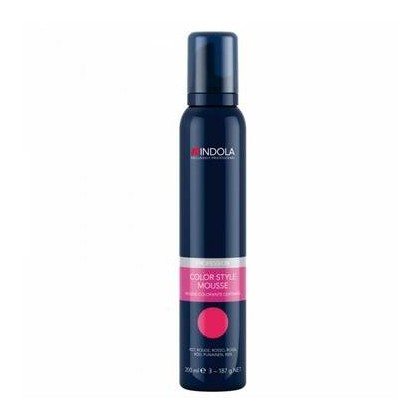 Indola Colour  Mousse  Red