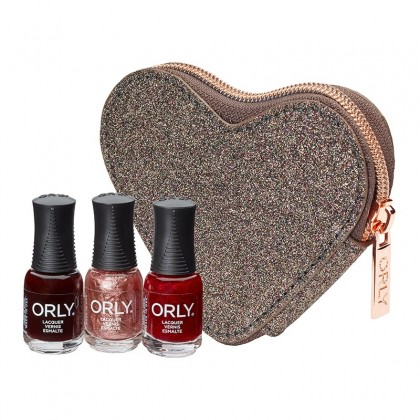 Orly Sparkle At Heart Purse - 3 Minis
