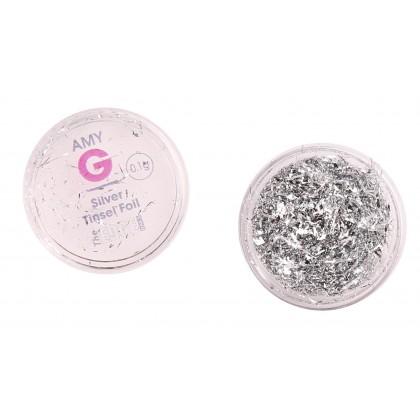 Amy G - Silver Tinsel Foil
