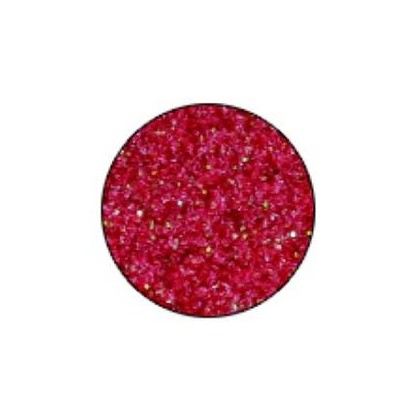 Polyester Glitter Red