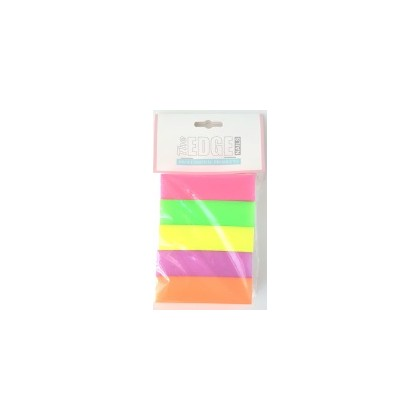 Mixed Neon 100/100 4 Way Blocks 5Pk