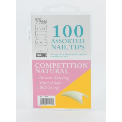 Competition Tips Natural 100Pk Ass