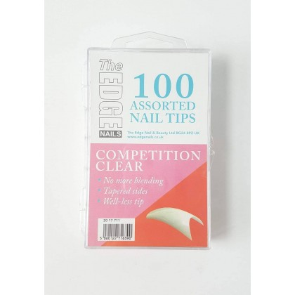 Competition Tips Clear 100Pk