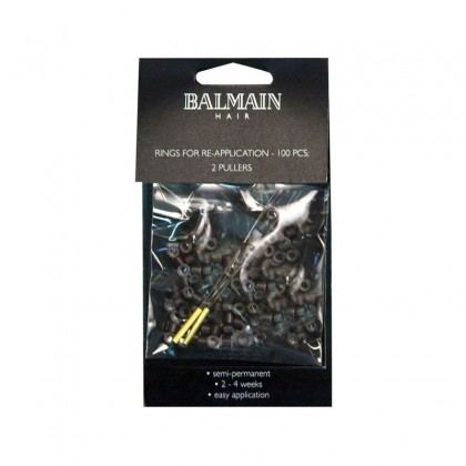 Balmain Soft Rings 100Pk Brown