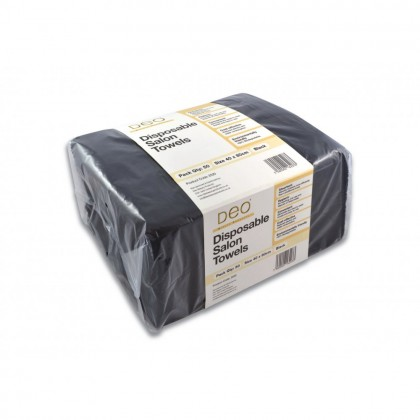 Deo - Disposable Towels - Black 50Pack