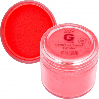 Amy G -Coral Fluorescent Powder 5G