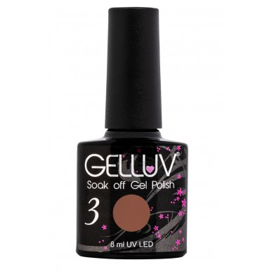 Gelluv Gel Polish Cocoa  8Ml