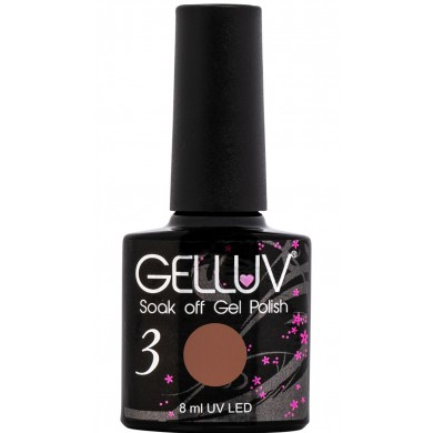 Gelluv Gel Polish Mocha  8Ml