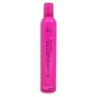 Silhouette Pink Mousse 500Ml