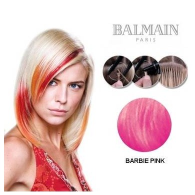 Hair Ex Str Hh Pbs 45Cm Barbie Pink