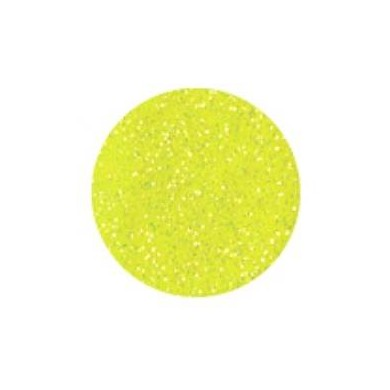 Polyester Glitter Hot Yellow